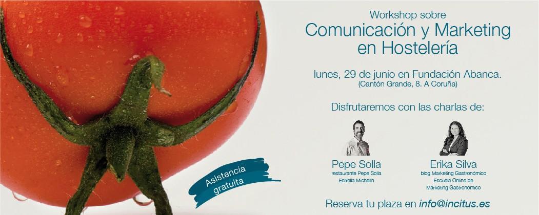 Pepe Solla y Erika Silva abordarán las nuevas tendencias en comunicación y marketing en el sector hostelero