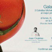 Tres estrellas Michelín entregarán el II Premio Incitus al mejor proyecto hostelero del año