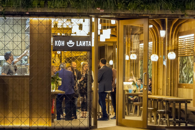Inauguración de Koh Lanta en Coruña