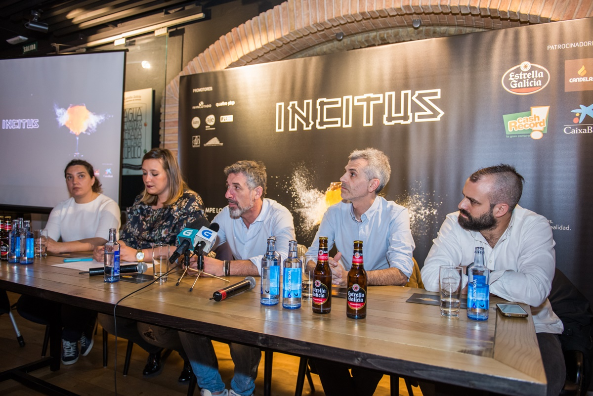 Presentación de Incitus en cervecería Estrella Galicia (Vigo). Foto by Gimena Berenguer