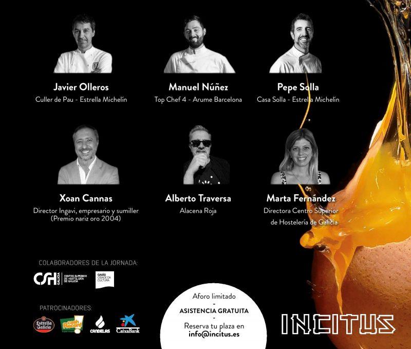 CLIC para asistir al evento en Santiago de Compostela